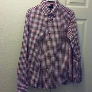 J.Crew Mens Plaid Shirt